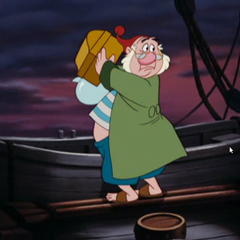 Mouche abandonne le navire, seul