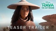 Raya and the Last Dragon - Official Teaser Trailer