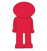 RED MAN NEW BACK SPRITE TRANS