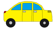 YELLOW CAR SPRITE TRANS