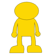 GOLD YELLOW GUY BACK SPRITE TRANS