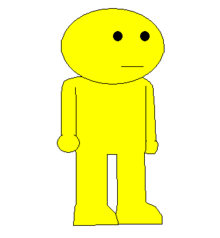 YELLOW MAN NEW SPRITE TRANS