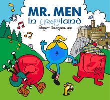 Cursed book cover of mr men in scotland
