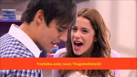 "Violetta - León and Violetta sing ""More Tears"" (English) With Lyrics"