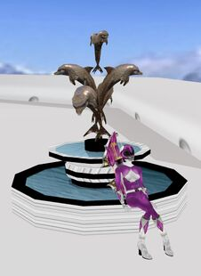 White Dolphin Fountain