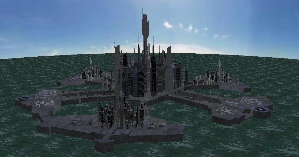 Atlantis-exterior view