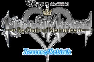 Kingdom Hearts ReChain of Memories Reverse Rebirth Logo KHRECOM