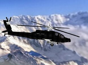 Apache in flight