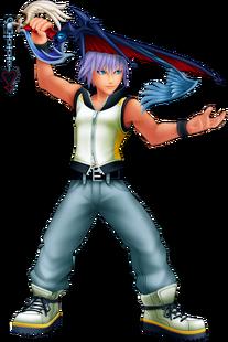 Riku (Battle) KH3D