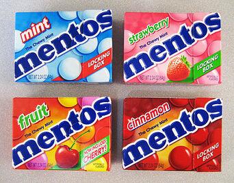 Mentos-box
