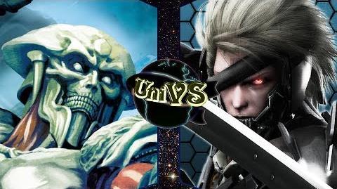 Yoshimitsu VS Raiden-0