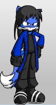 Kyanite the wolf
