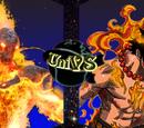 Cinder vs. Portgas D. Ace