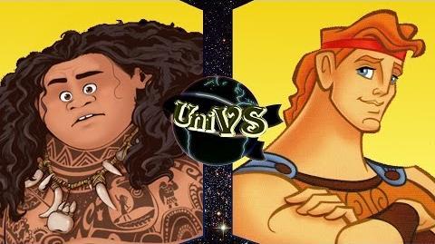 UniVS - Maui VS Hercules