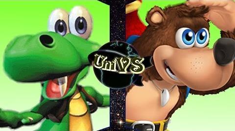UniVS - Croc VS Banjo