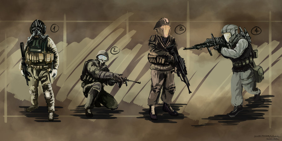 Solfasist Troops