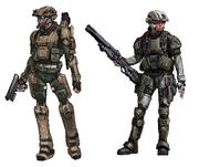 Reserve Paixân Troops