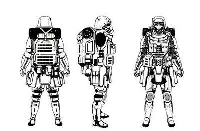 RF paratroops