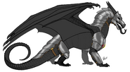 Nightwing in armor