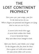 Lostcontinentprophecy
