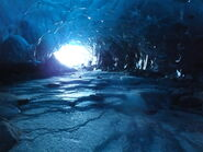 Real world ice cave