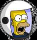 HomerAstronaute Surpris