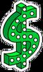 Casino $ Icon