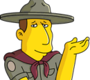 Le chef scout