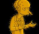 Statue de M. Burns