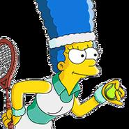 Joueur Marge Tenniswoman