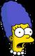 Marge bébé Surpris