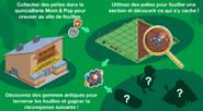 Guide Site de fouilles