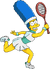 Marge Tenniswoman