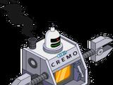 Robot incinérateur