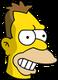 Jeune Grand-père Simpson Content