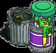 Pack de poubelles