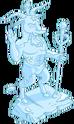 Statue du dieu Julbock