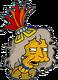 Folle aux iguanes Ennuyé