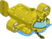 Submersible jaune