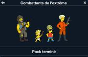 Combattants de l'extrême