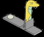 Faux serpent jaune