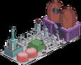 Réacteur endommagé