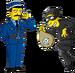 Pack Gendarmes et voleurs étrangers