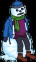 Burns rando de neige