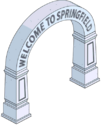 Arche Bienvenue à Springfield