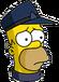 HomerConducteur Triste