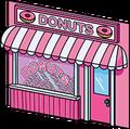 Réserve pleine de 900 donuts