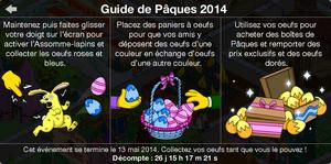 Guide Pâques 2014