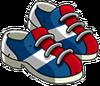 Paire de chaussures de bowling