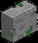 Mur en ruines